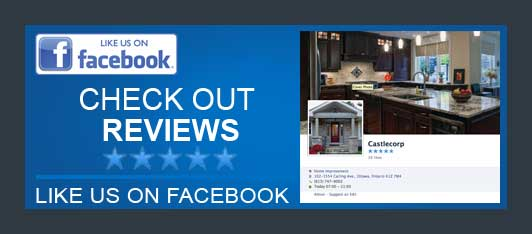 facebook CastleCorp 5-star review best renovation company ottawa